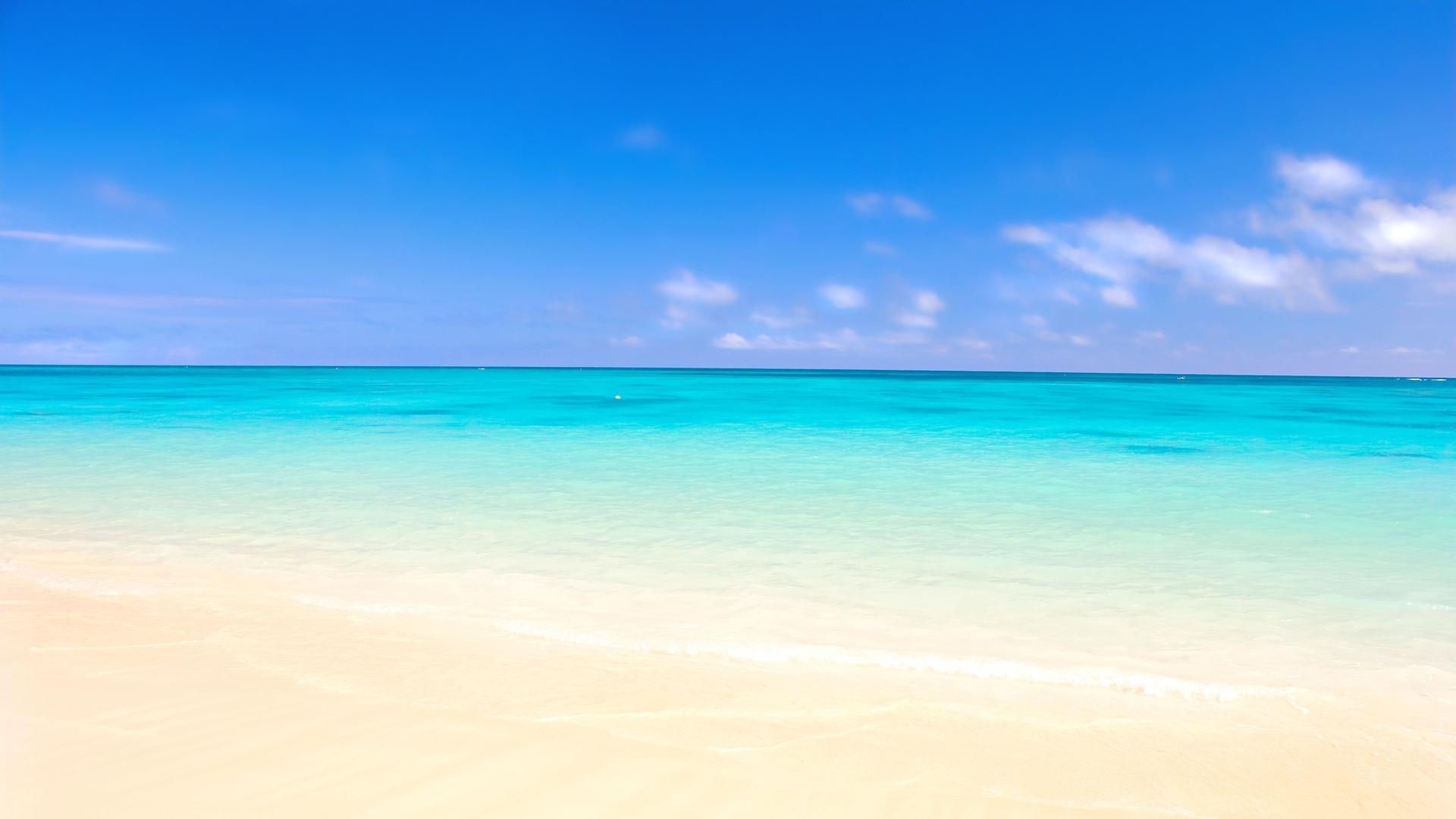 download wallpaper 1920x1080 ocean, sand, beach full hd 1080p hd