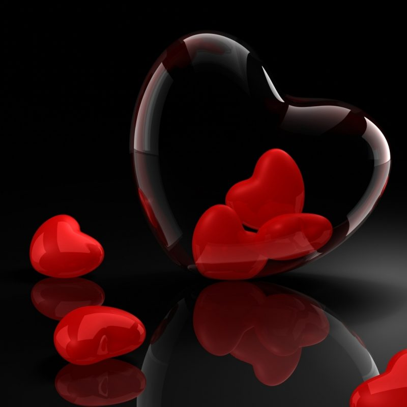 10 Best Hearts With Black Background FULL HD 1920×1080 For PC Desktop 2020 free download download wallpaper 1920x1080 valentines day black background 800x800