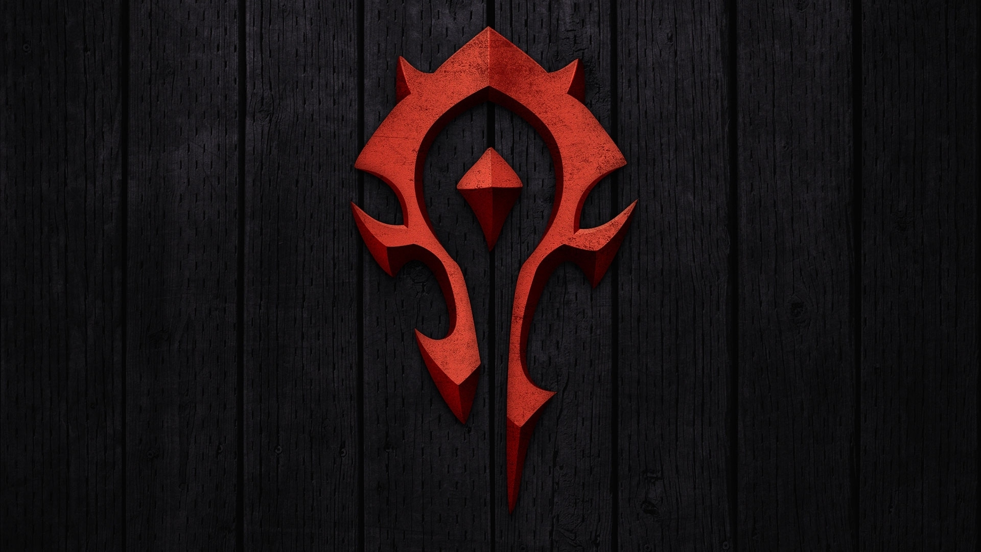 download wallpaper 1920x1080 world of warcraft, horde, symbol