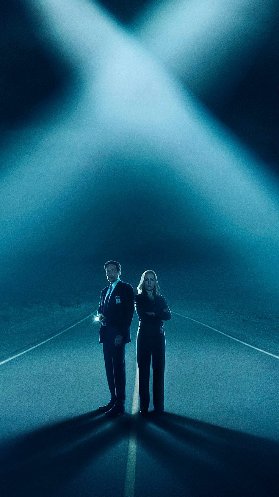 download wallpaper 938x1668 the x files, david duchovny, gillian