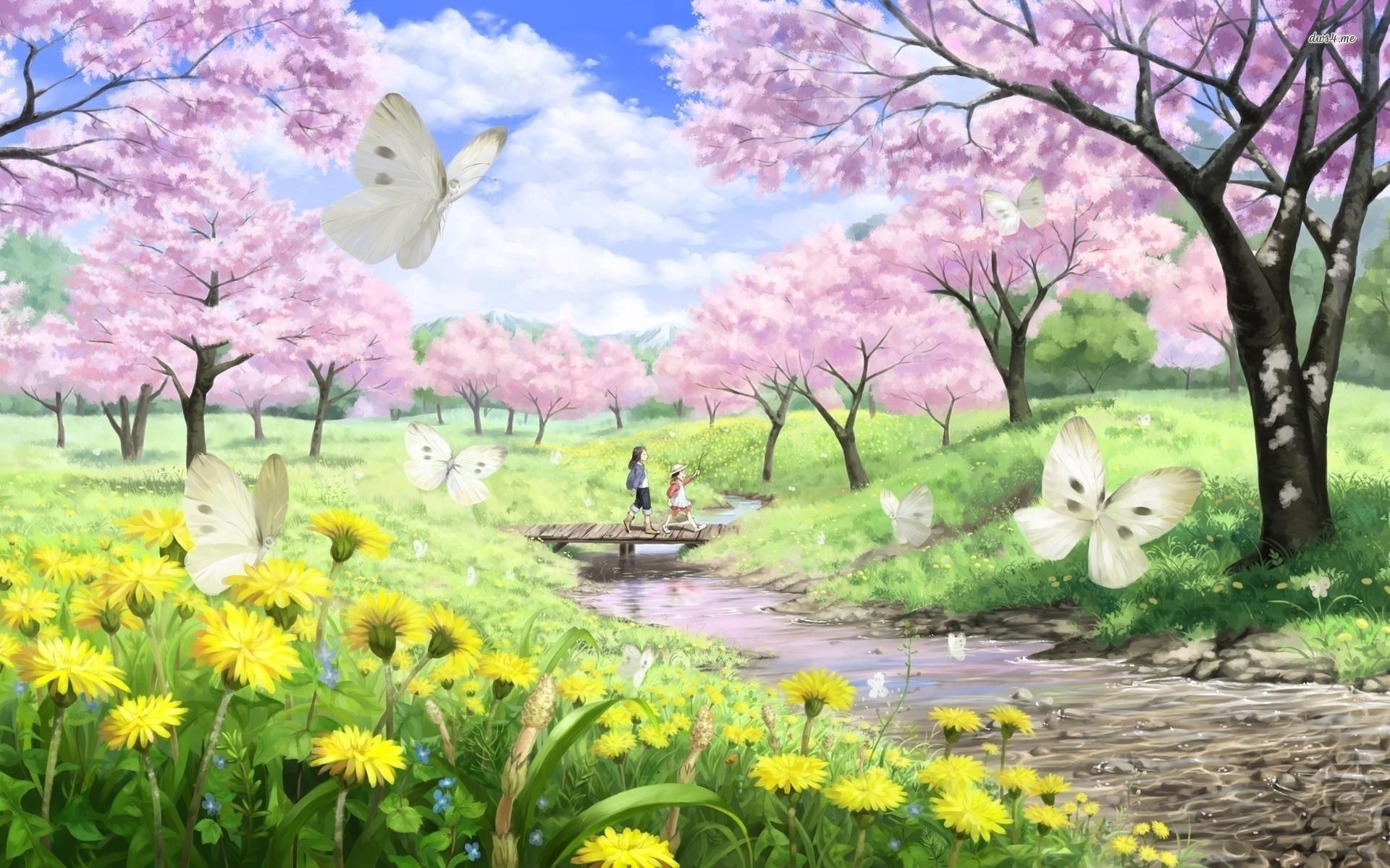 10 Best Spring Nature Desktop Wallpaper FULL HD 1920×1080 ...