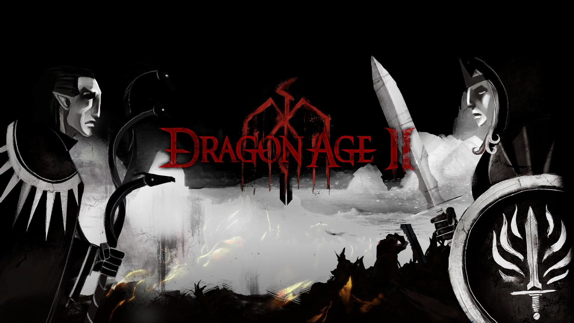 dragon age ii full hd wallpaper and background image | 1920x1080