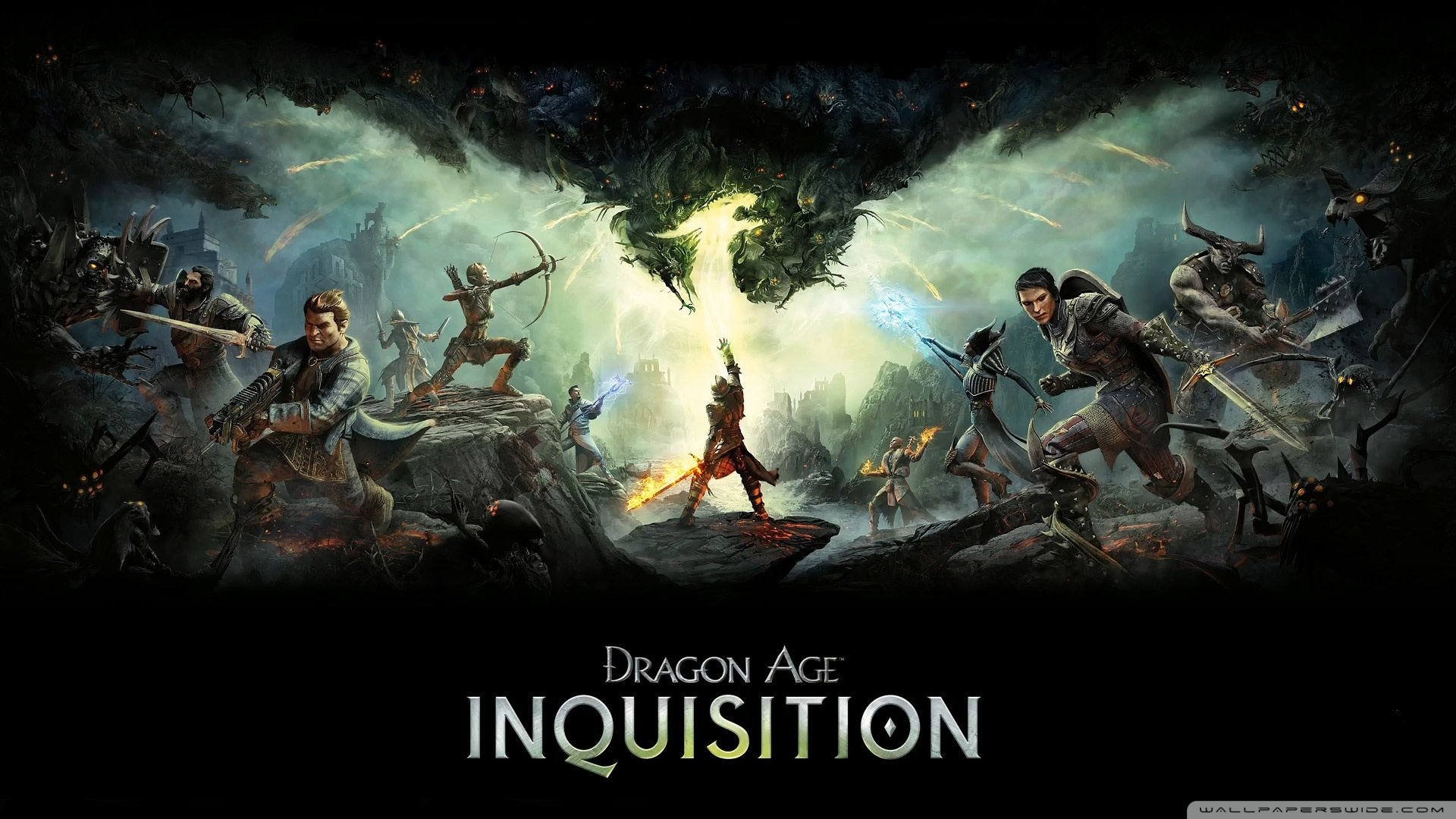 dragon age inquisition ❤ 4k hd desktop wallpaper for 4k ultra hd tv