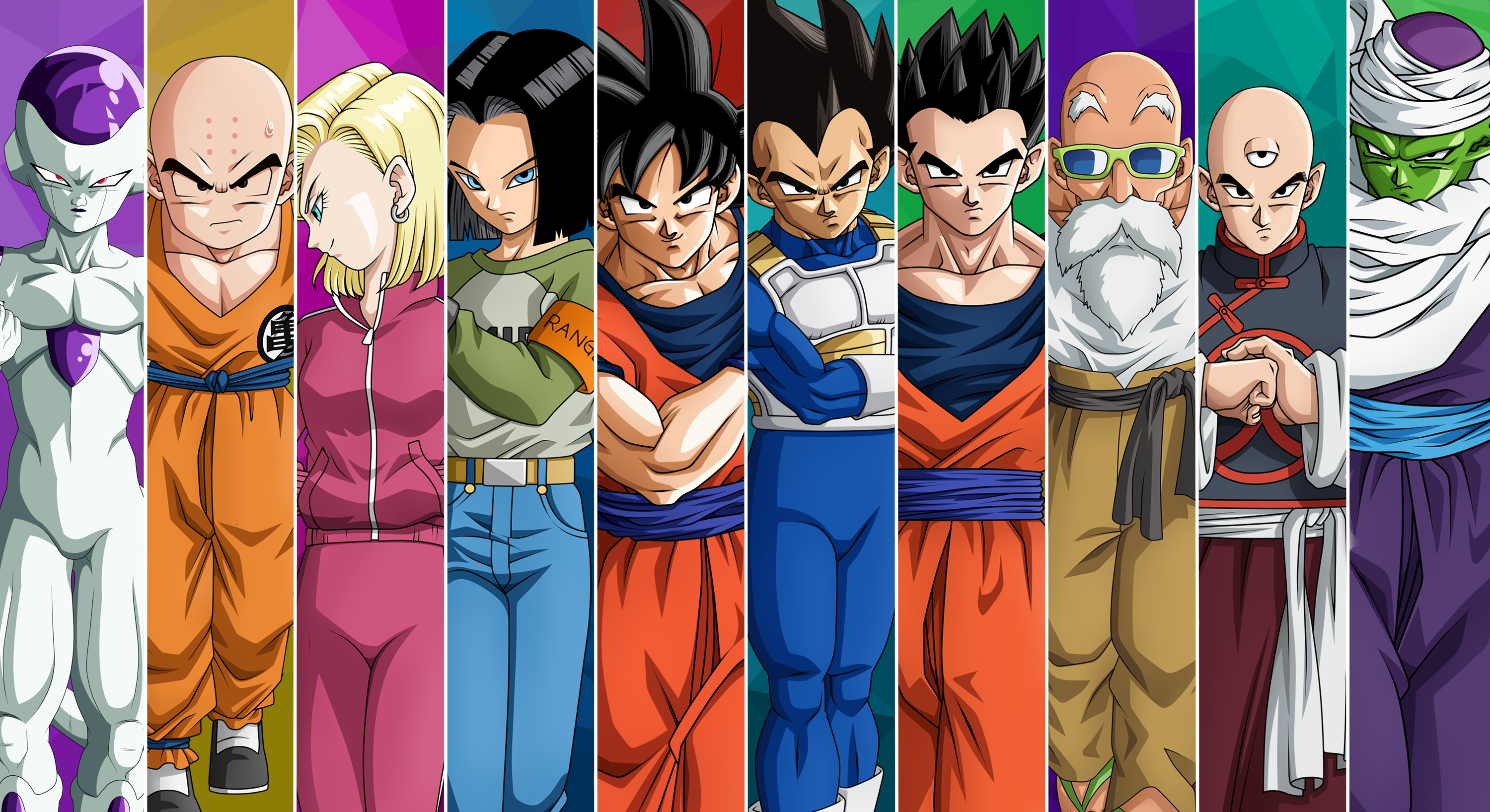 dragon ball super full hd wallpaper and background image | 3000x1636