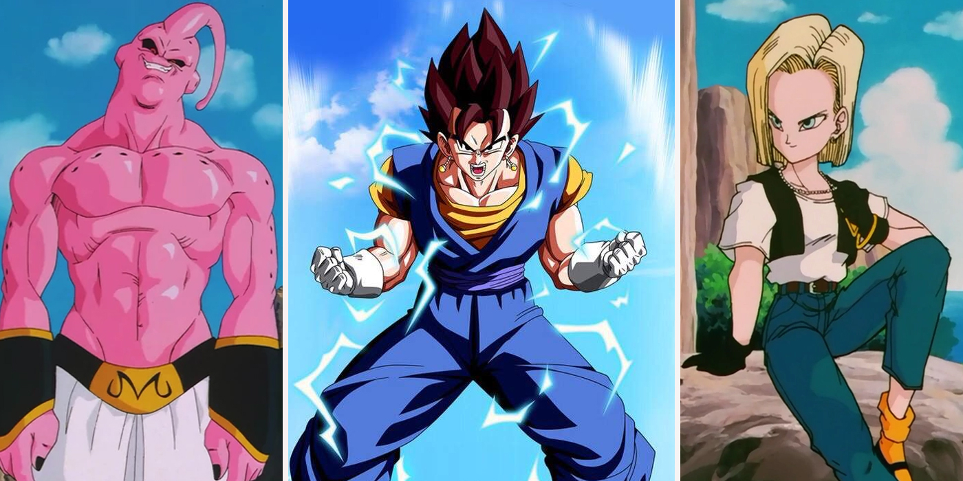 dragon ball z: every fighter ranked | screenrant
