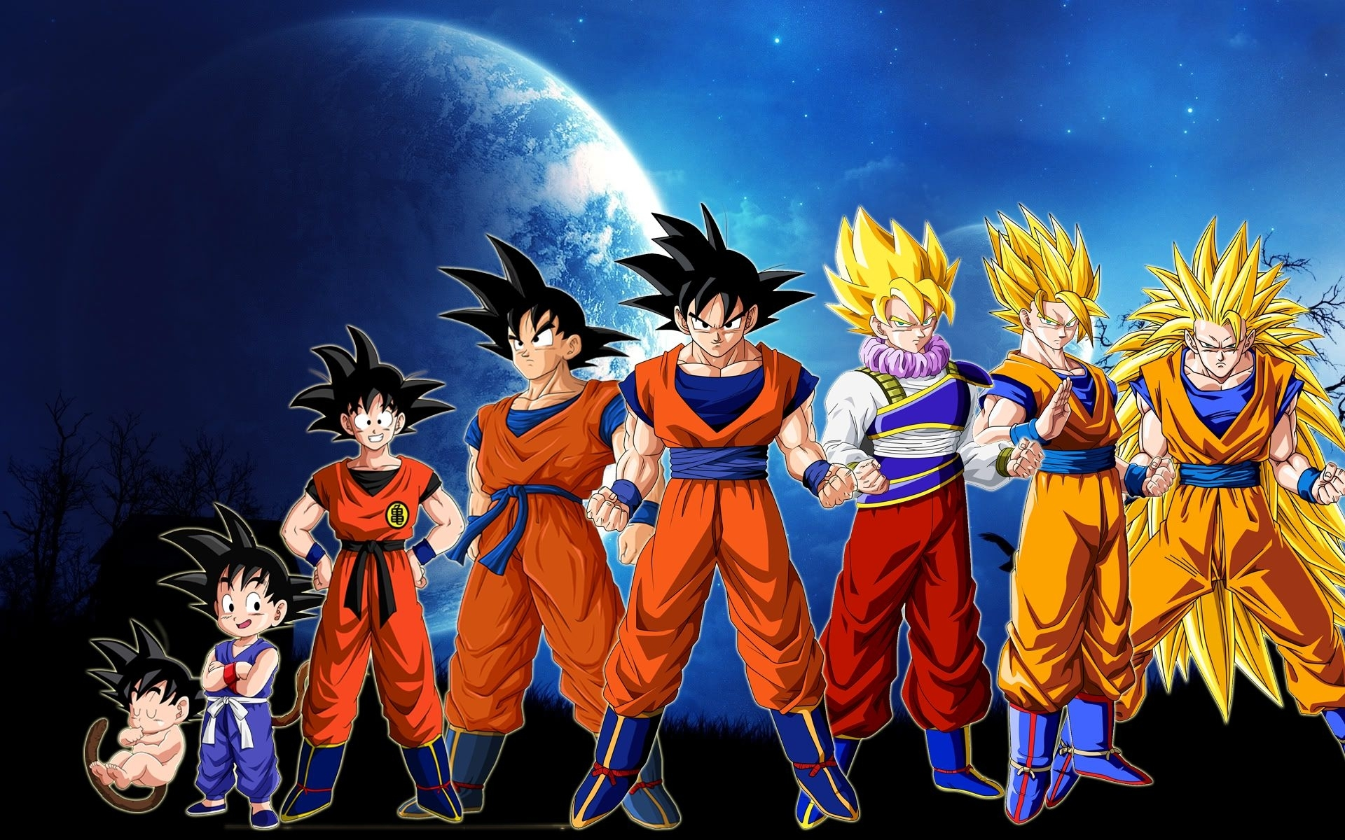 10 Best Dragon Ball Z Goku Wallpaper Full Hd 1080p For Pc Background