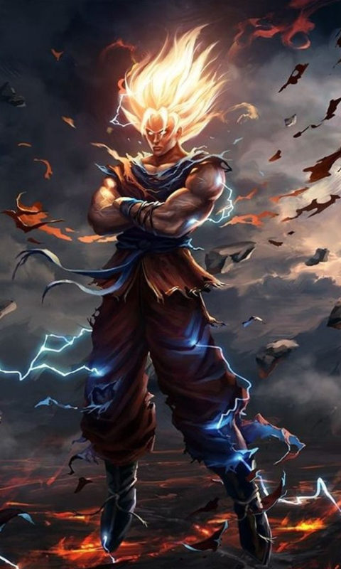 10 Best Dragon Ball Z Goku Hd Wallpapers FULL HD 1080p For PC Background 2018 free download dragon ball z wallpapers hd goku free download wallpapers in 2019 480x800