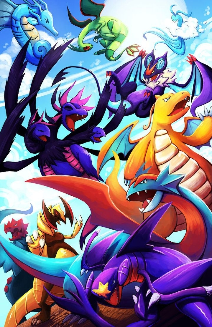 dragon-type pokémon wallpapers - wallpaper cave