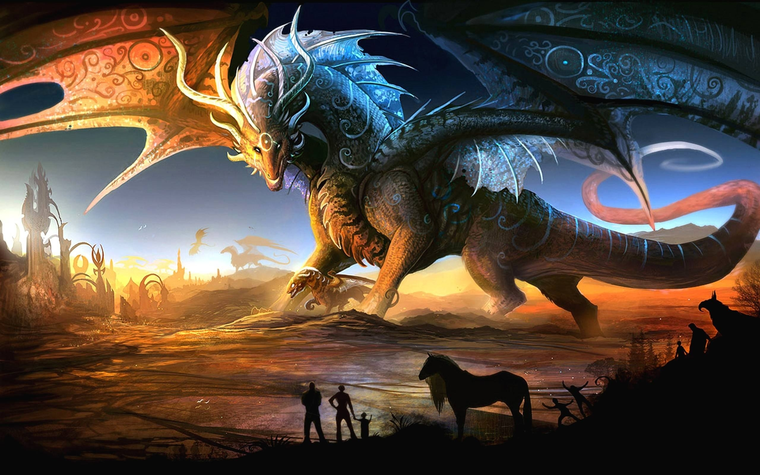 dragon widescreen wallpapers 06058 - baltana