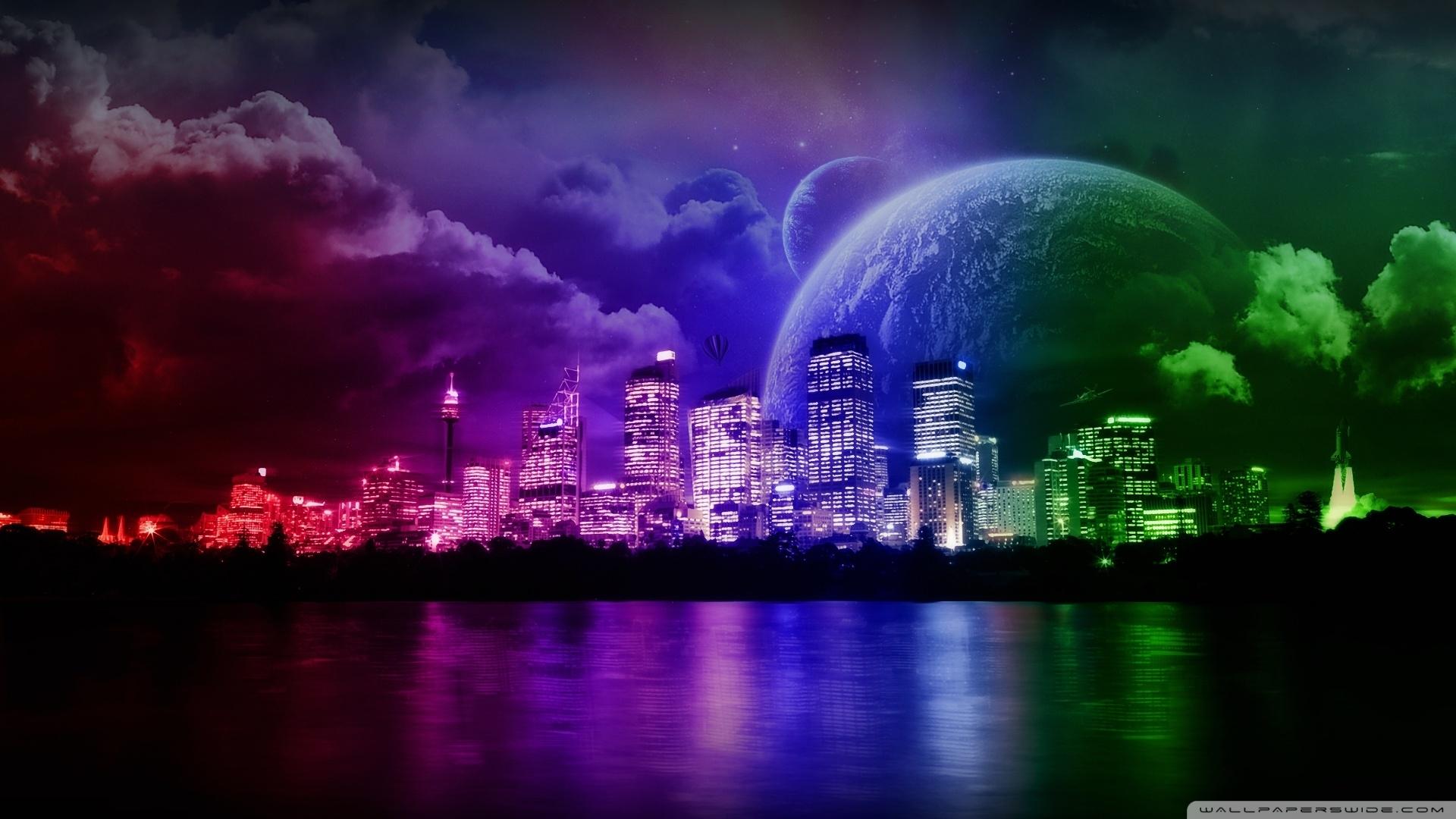 dream city ❤ 4k hd desktop wallpaper for 4k ultra hd tv • wide