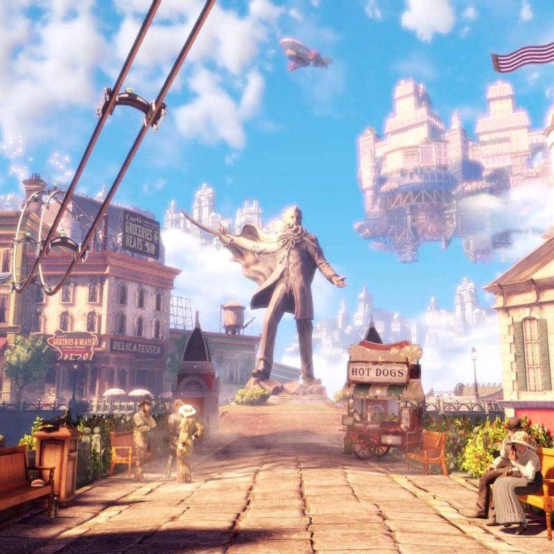 10 Best Bioshock Infinite Wallpaper 1080P FULL HD 1920×1080 For PC Background 2021 free download dreamscene live wallpaper bioshock infinite columbia 1080p 800x800