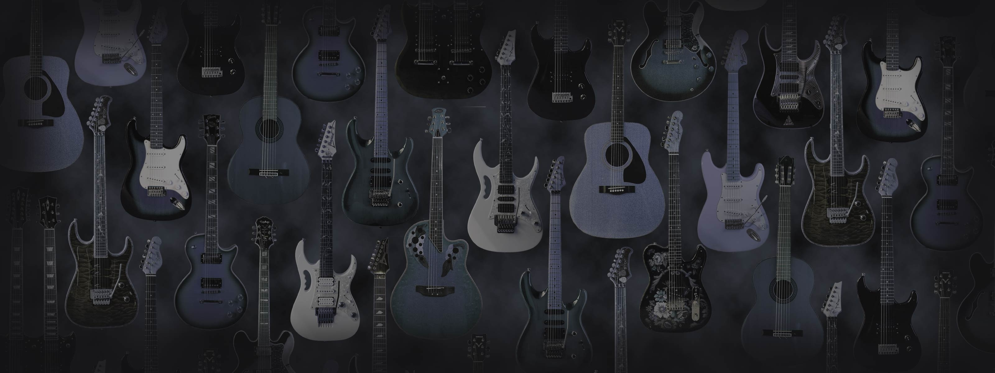 dual monitor guitar wallpapers, from gch guitar academy