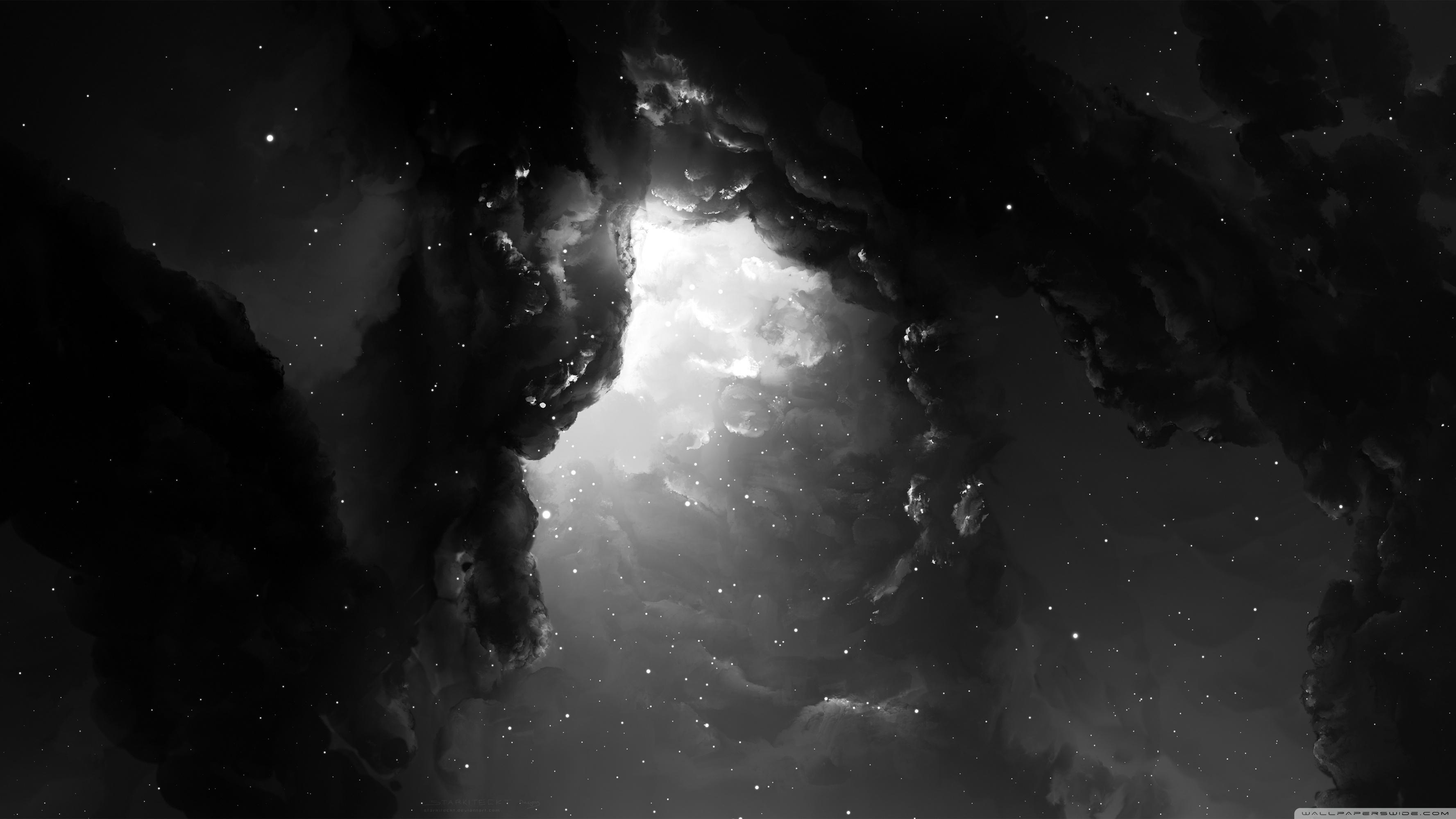 dual monitor nebula starkiteckt ❤ 4k hd desktop wallpaper for