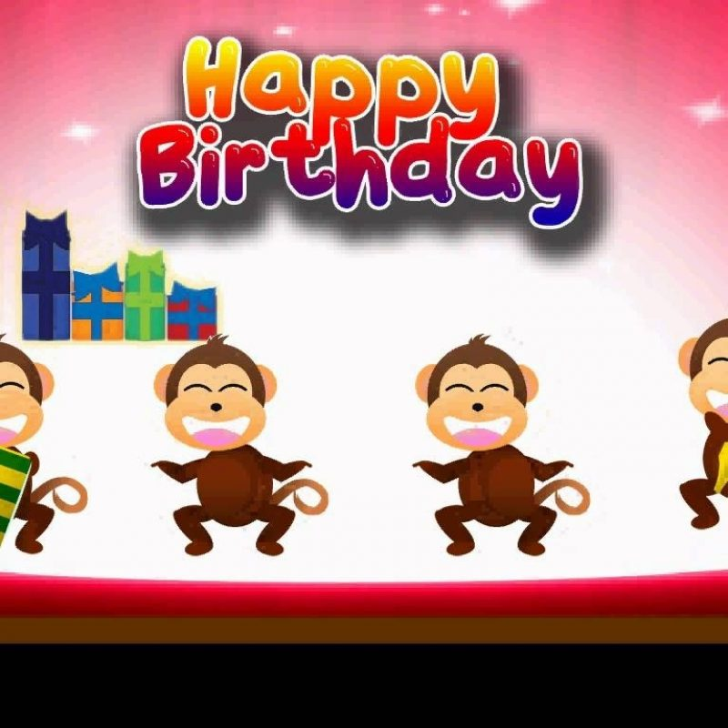 10 Most Popular Funny Happy Birthday Wallpaper FULL HD 1920×1080 For PC Desktop 2018 free download e card happy birthday monkey party youtube 800x800