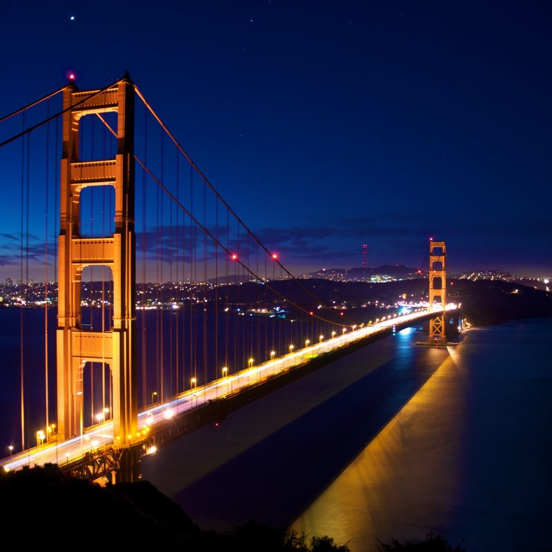 10 Latest San Francisco At Night Wallpaper FULL HD 1080p For PC Desktop 2020 free download early morning at the gate 4k ultra hd fond decran and arriere plan 800x800