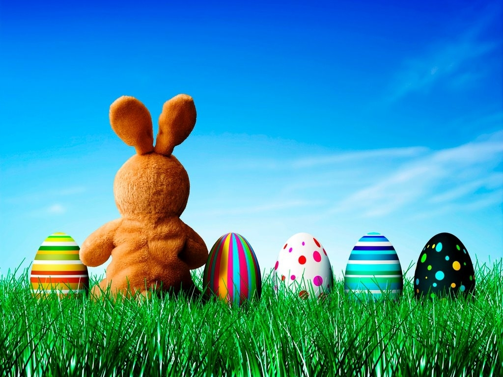easter bunny background hd wallpaper | roominvite me wallpaper