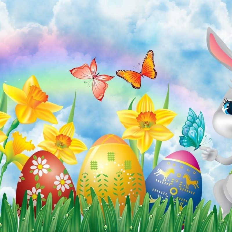 10 Most Popular Easter Bunny Wallpaper Backgrounds FULL HD 1920×1080 For PC Background 2018 free download easter bunny easter eggs and daffodils full hd wallpaper and 800x800