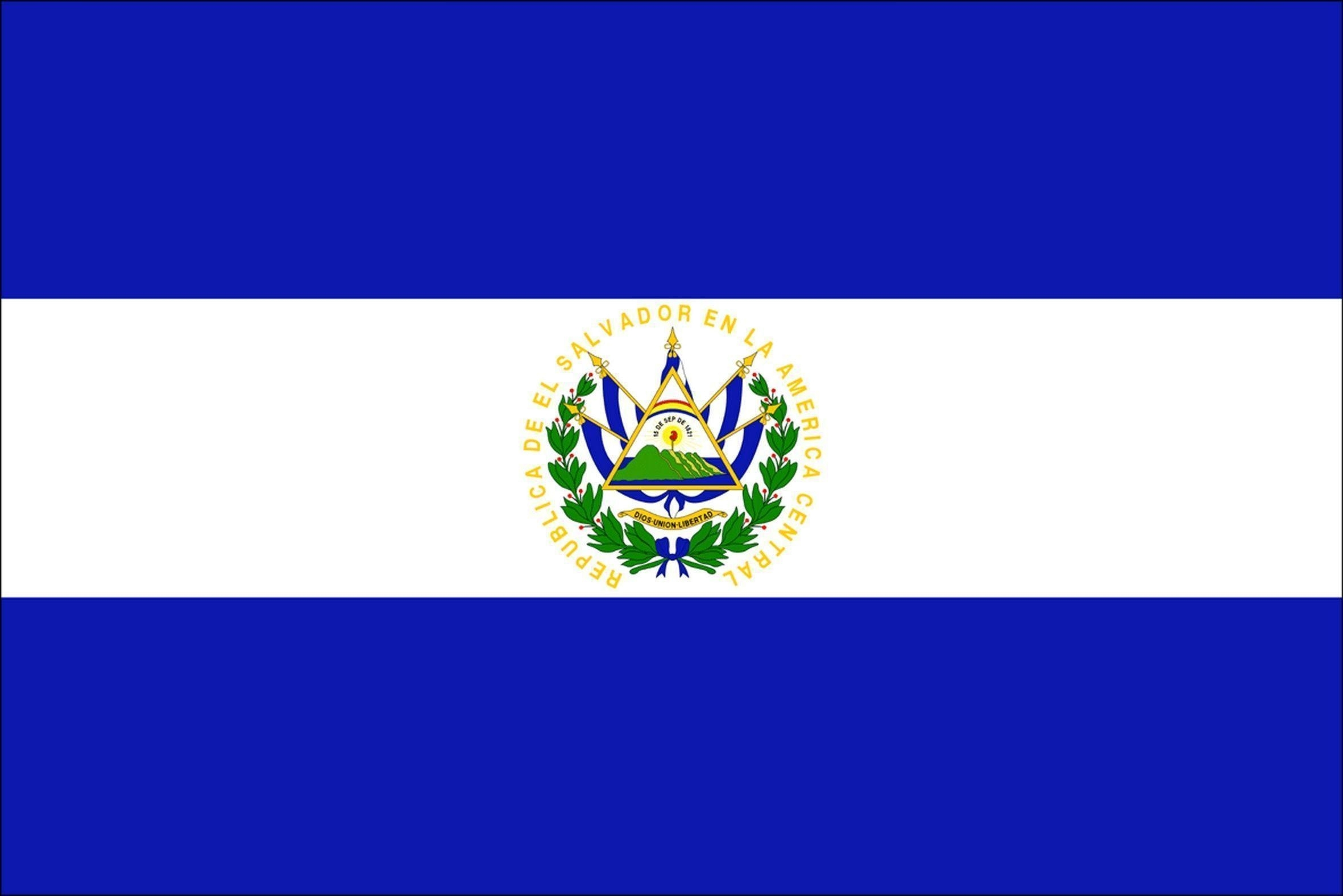 el salvador flag wallpapers - wallpaper cave