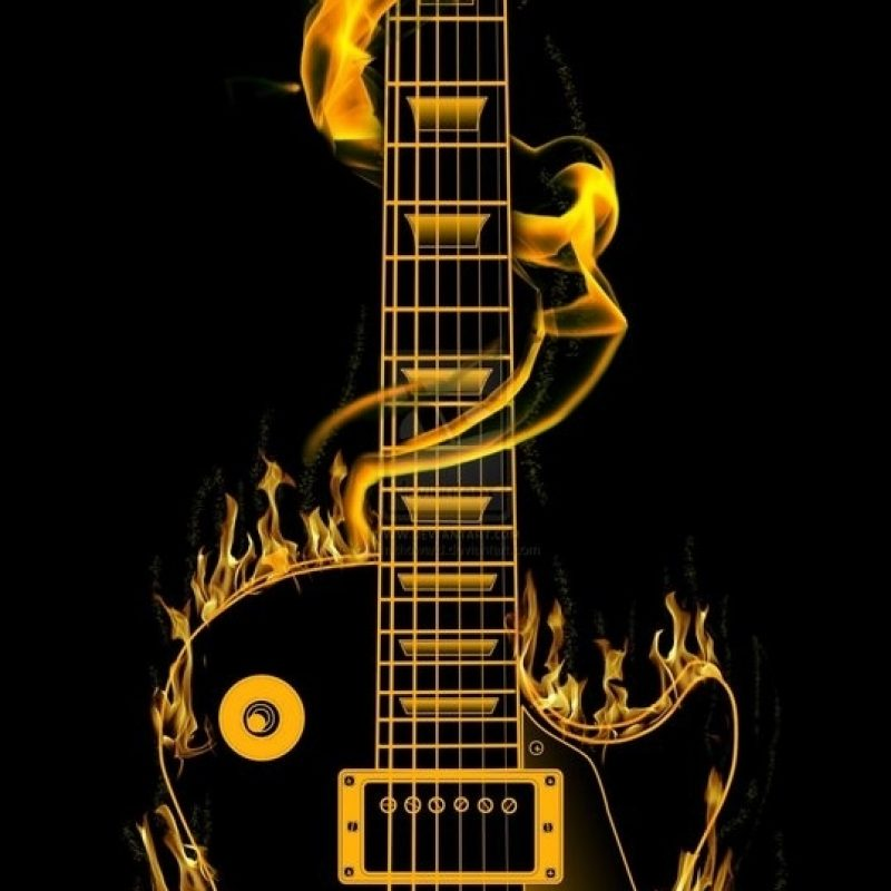 10 Latest Les Paul Electric Guitar Wallpaper FULL HD 1080p