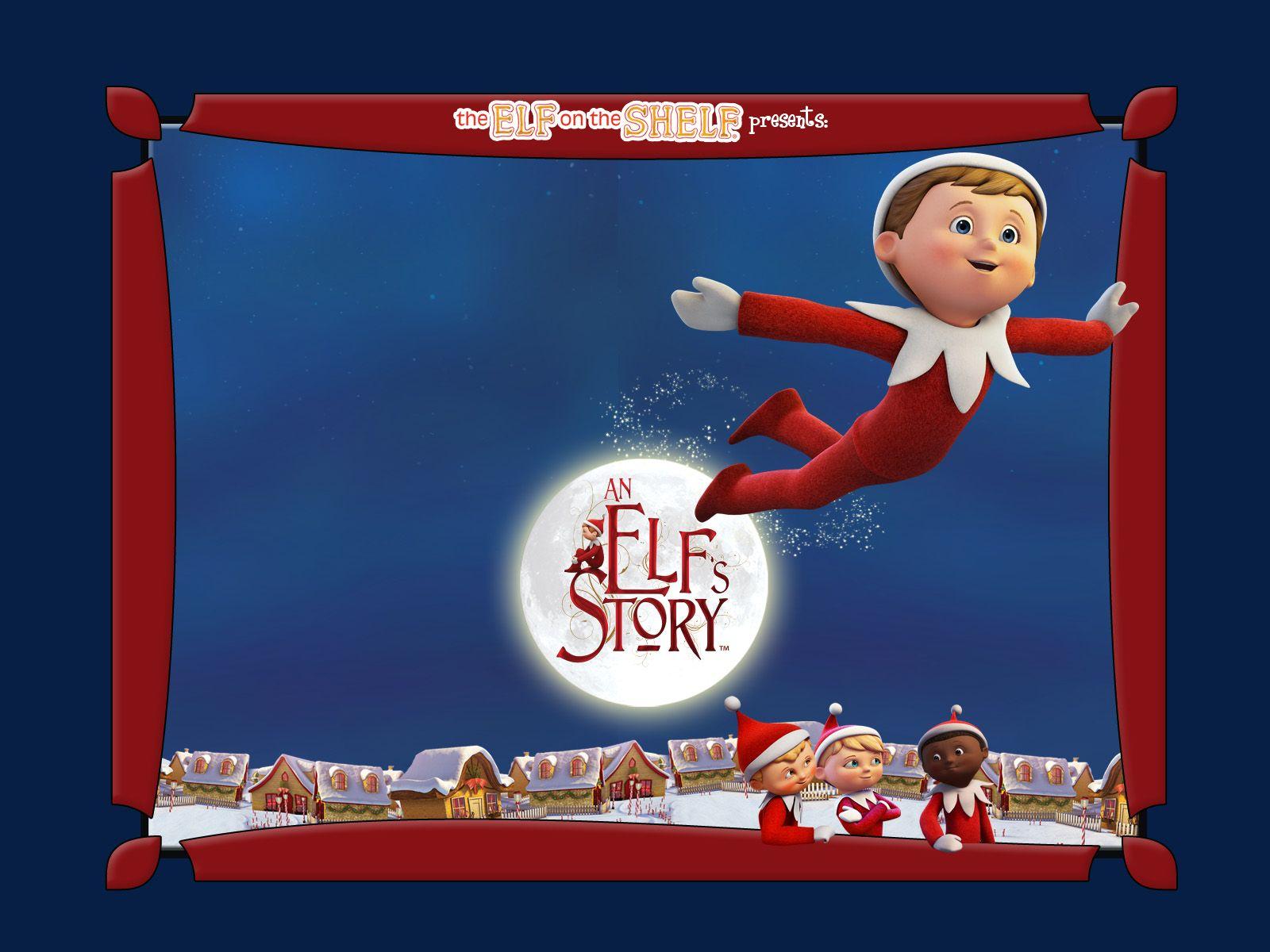 elf on the shelf wallpaper / games etc. | elves | christmas