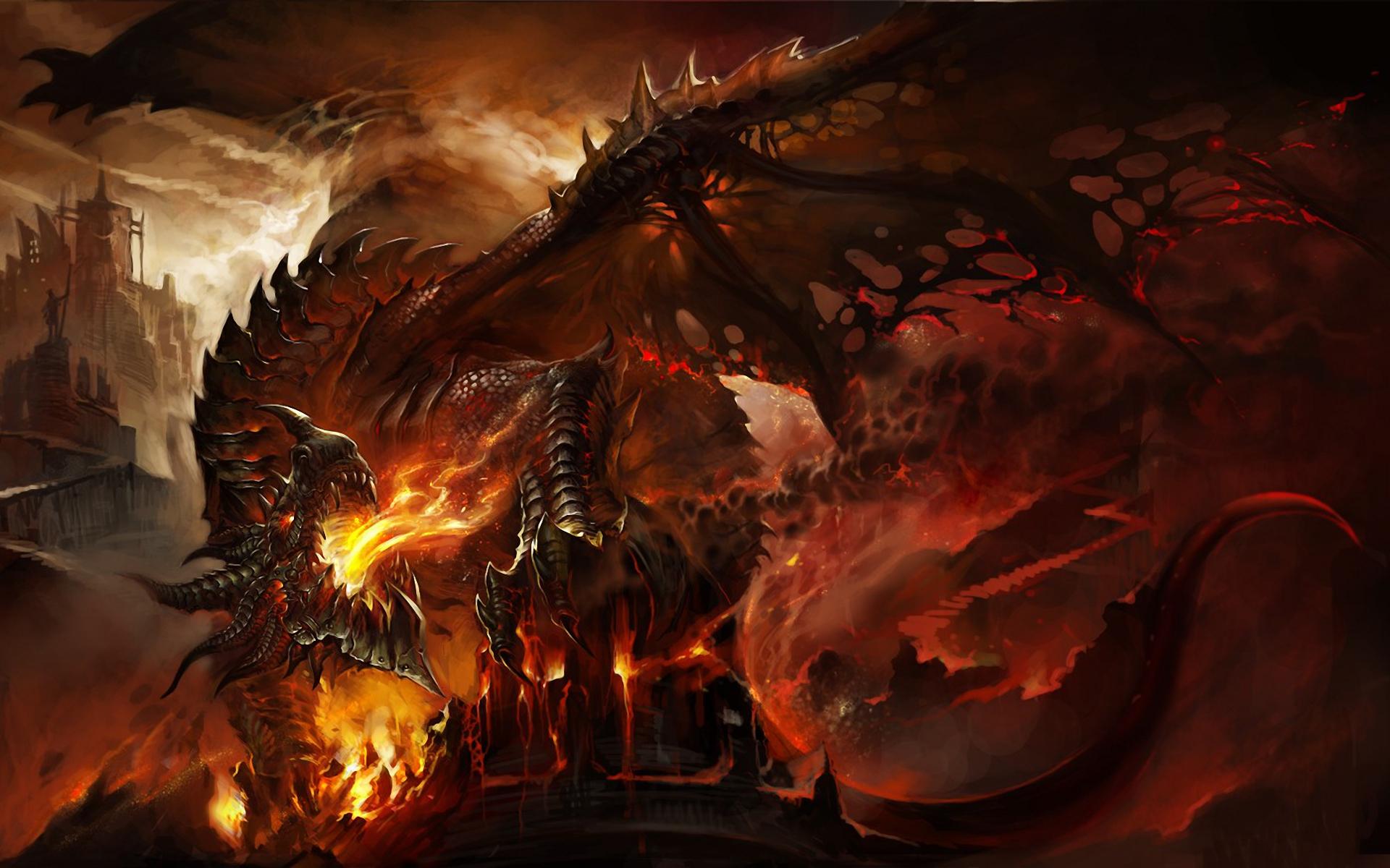 epic dragon wallpaper - wallpapersafari