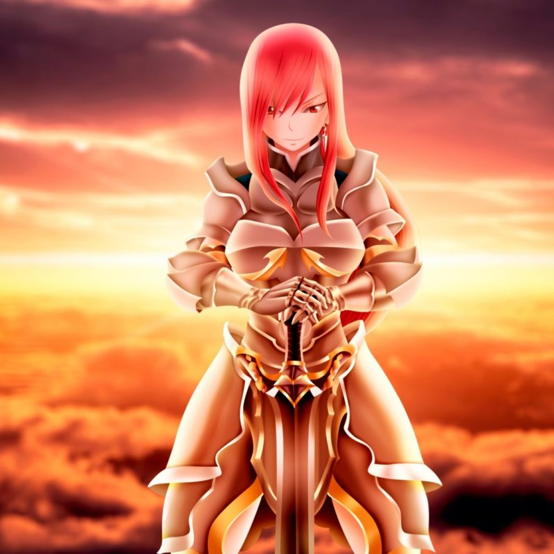 10 New Fairy Tail Erza Wallpaper FULL HD 1920×1080 For PC Desktop 2018 free download erza scarlet wallpaper 75 images 800x800