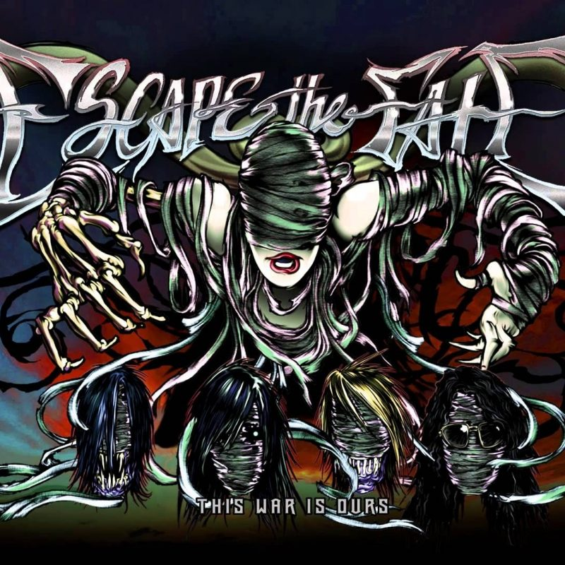 10 Best Escape The Fate Wallpapers FULL HD 1920×1080 For PC Background 2018 free download escape the fate on to the next one full album stream youtube 800x800