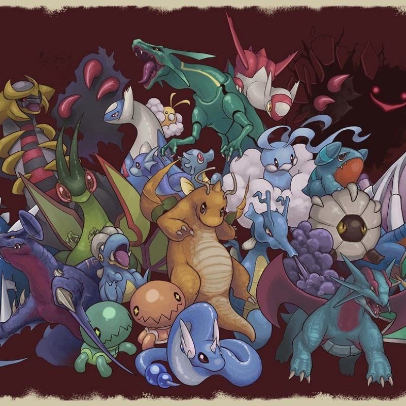 10 Top Dragon Type Pokemon Wallpaper FULL HD 1920×1080 For PC Background 2020 free download even with fairies around theyre still the most badass pokemon 800x800