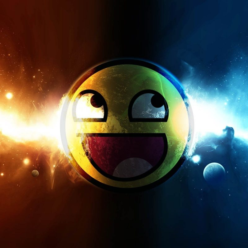 10 Latest Awesome Smiley Face Space FULL HD 1080p For PC Desktop 2021 free download explosions in space wallpaper 903246 800x800