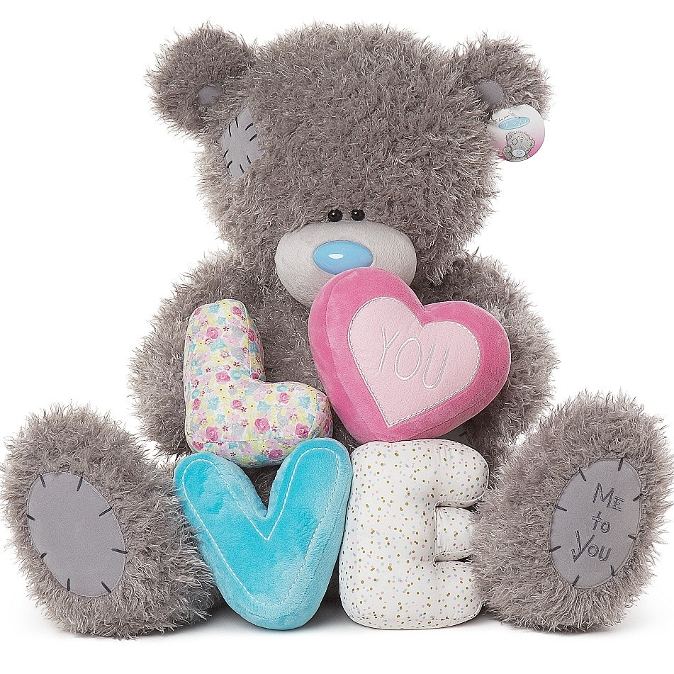 extra large me to you bear love - tatty teddy i love you bears