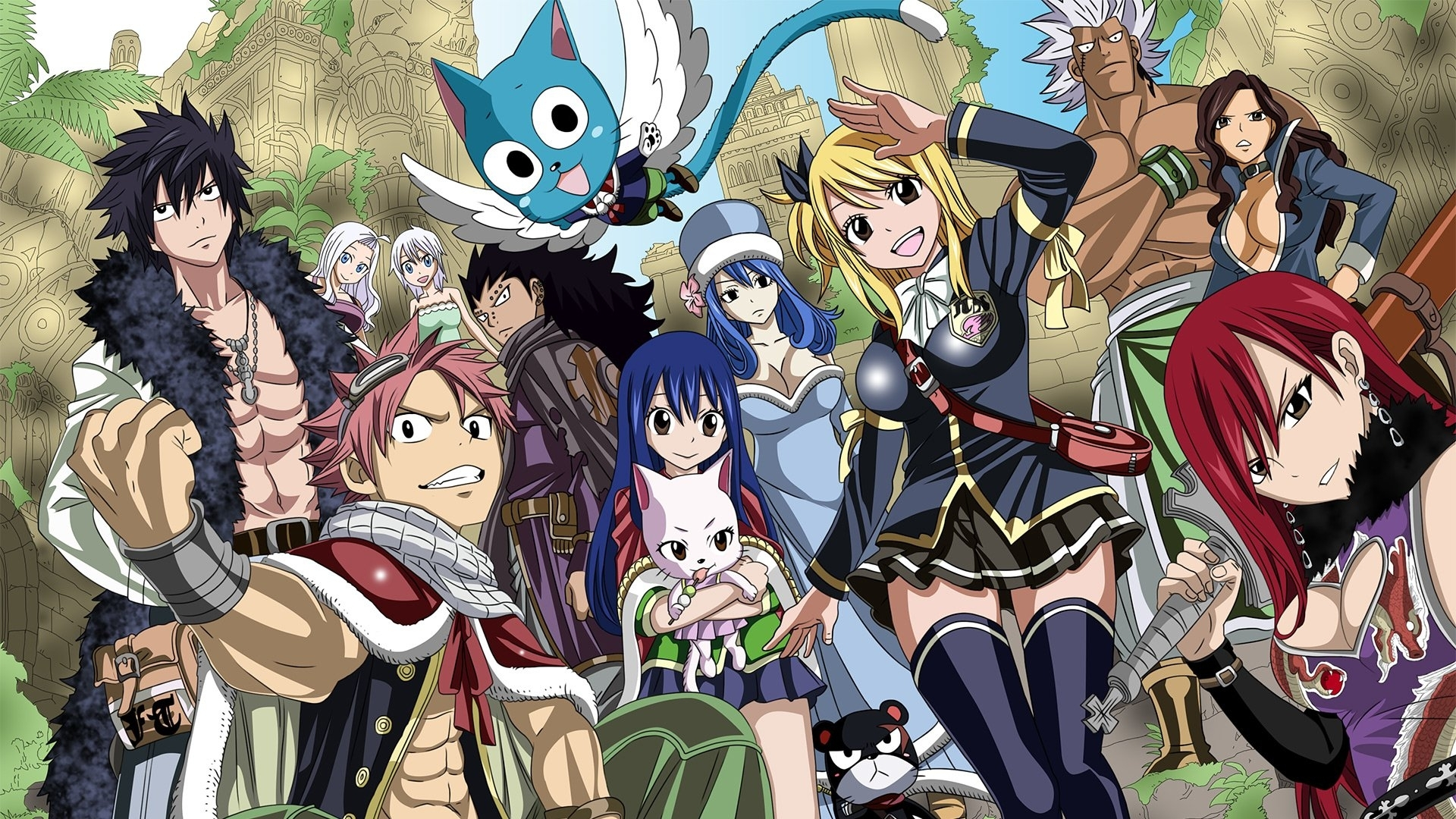 fairy tail full hd wallpaper and background image | 1920x1080 | id