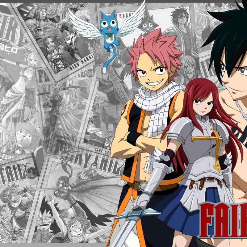 10 Latest Anime Wallpaper Fairy Tail FULL HD 1920×1080 For PC Desktop 2018 free download fairy tail group wallpaper 10 000 fonds decran hd gratuits et 800x800