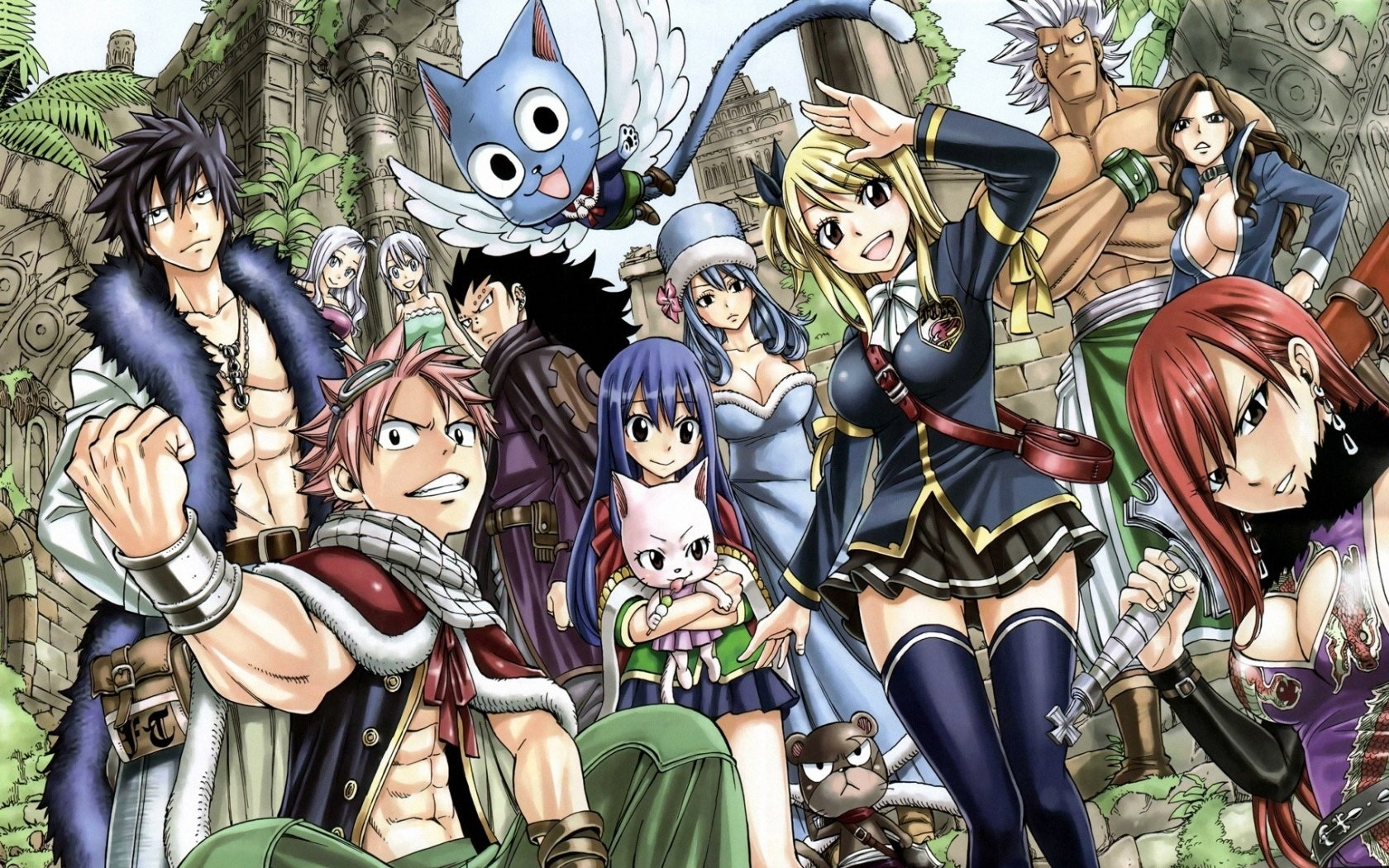 fairy tail - wallpaper - group - 10 000 fonds d'écran hd gratuits et