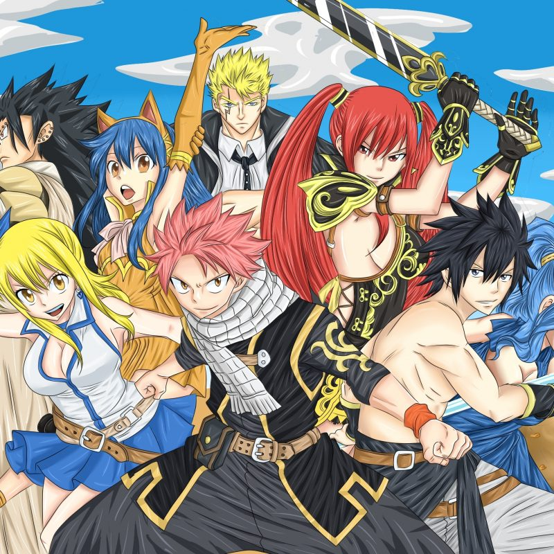 10 Latest Anime Wallpaper Fairy Tail FULL HD 1920×1080 For PC Desktop 2018 free download fairytail wallpaper 23 800x800