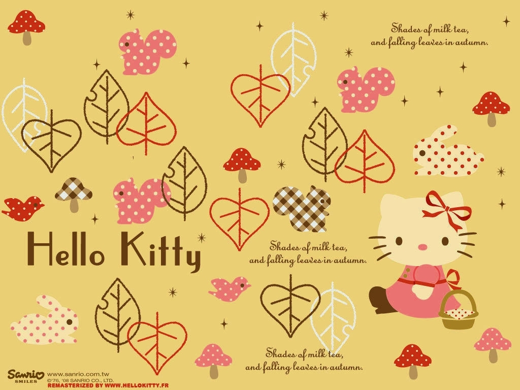 fall hello kitty wallpaper | tianyihengfeng|free download high