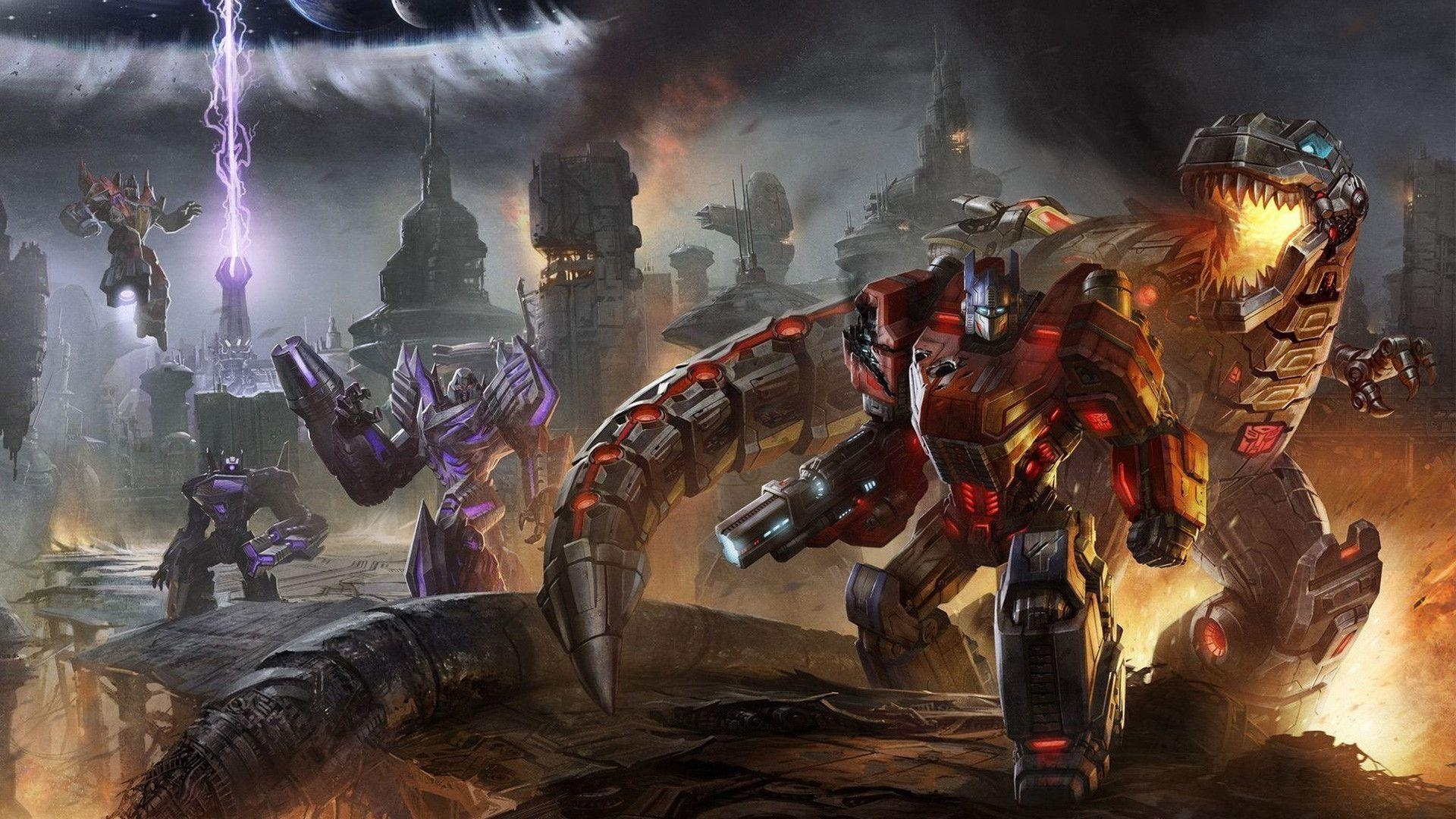 fall of cybertron wallpapers - wallpaper cave