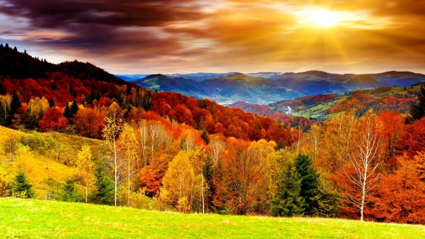 fall pictures | free download hd awesome bright autumn scenery