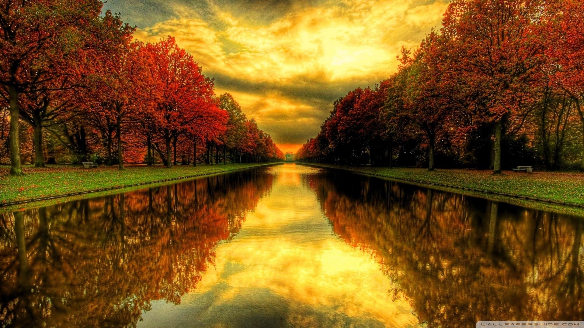 fall reflections ❤ 4k hd desktop wallpaper for 4k ultra hd tv