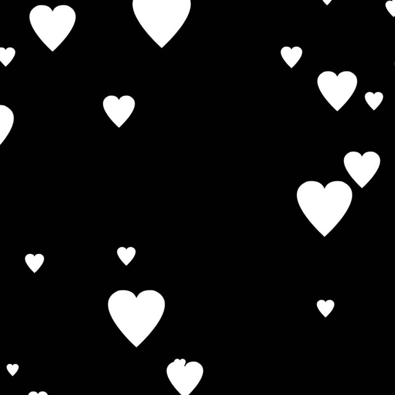 10 Best Black And White Hearts Background FULL HD 1080p For PC Background 2020 free download falling white cartoon hearts over black background very easy to use 1 800x800