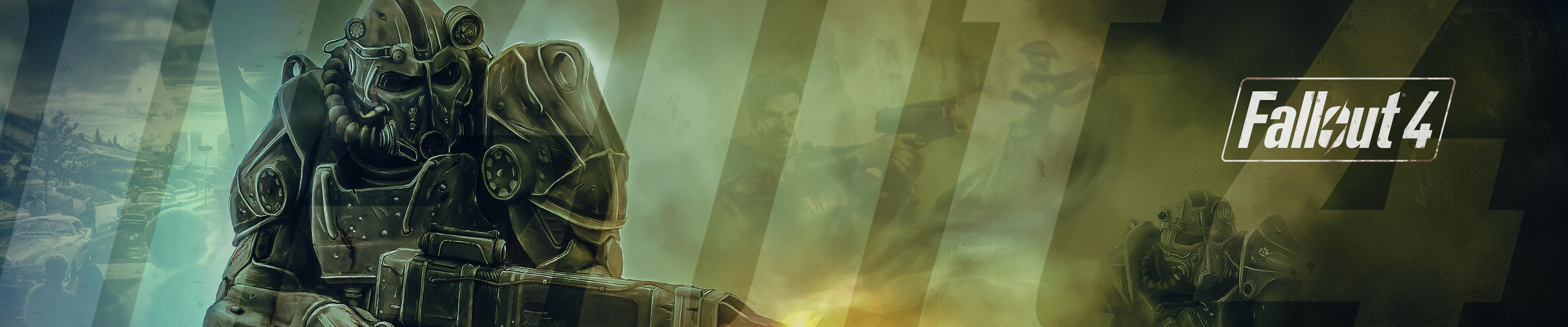 fallout 4 concept art wallpaper (triple monitor) - imgur