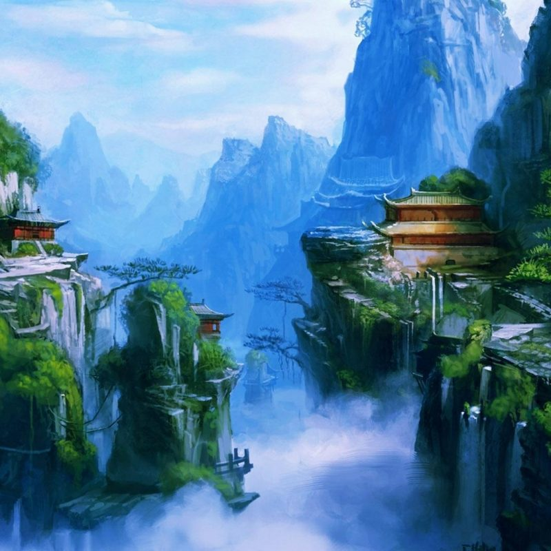 10 Latest Fantasy Landscape Wallpaper 1920X1080 FULL HD 1080p For PC Background 2018 free download fantas landscape desktop wallpapers wallpapers heavens pinterest 800x800