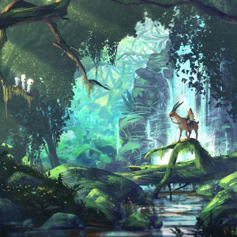 10 New Studio Ghibli Hd Wallpapers FULL HD 1080p For PC Background 2018 free download fantasy art anime forest princess mononoke studio ghibli 800x800