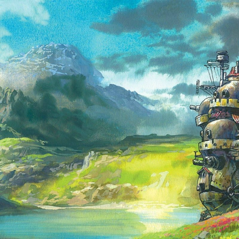 10 Latest Howl's Moving Castle Wallpaper Widescreen FULL HD 1080p For PC Background 2020 free download fantasy art artwork howls moving castle wallpapers hd desktop 800x800