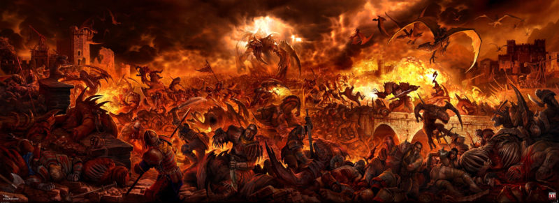 10 Best Hell Art Wallpaper FULL HD 1920×1080 For PC Desktop 2018 free download fantasy art digital art hell wallpaper background in 2019 800x291
