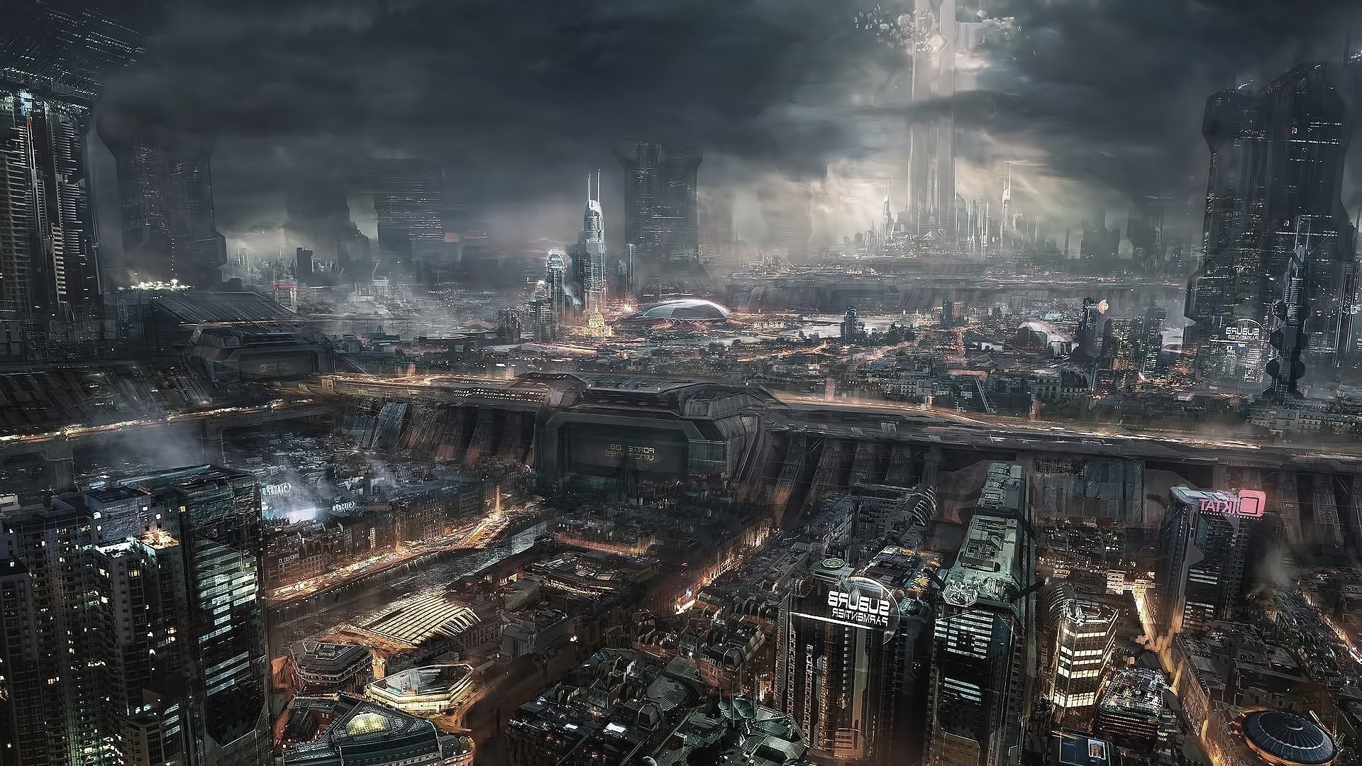 fantasy art, steampunk, city wallpapers hd / desktop and mobile