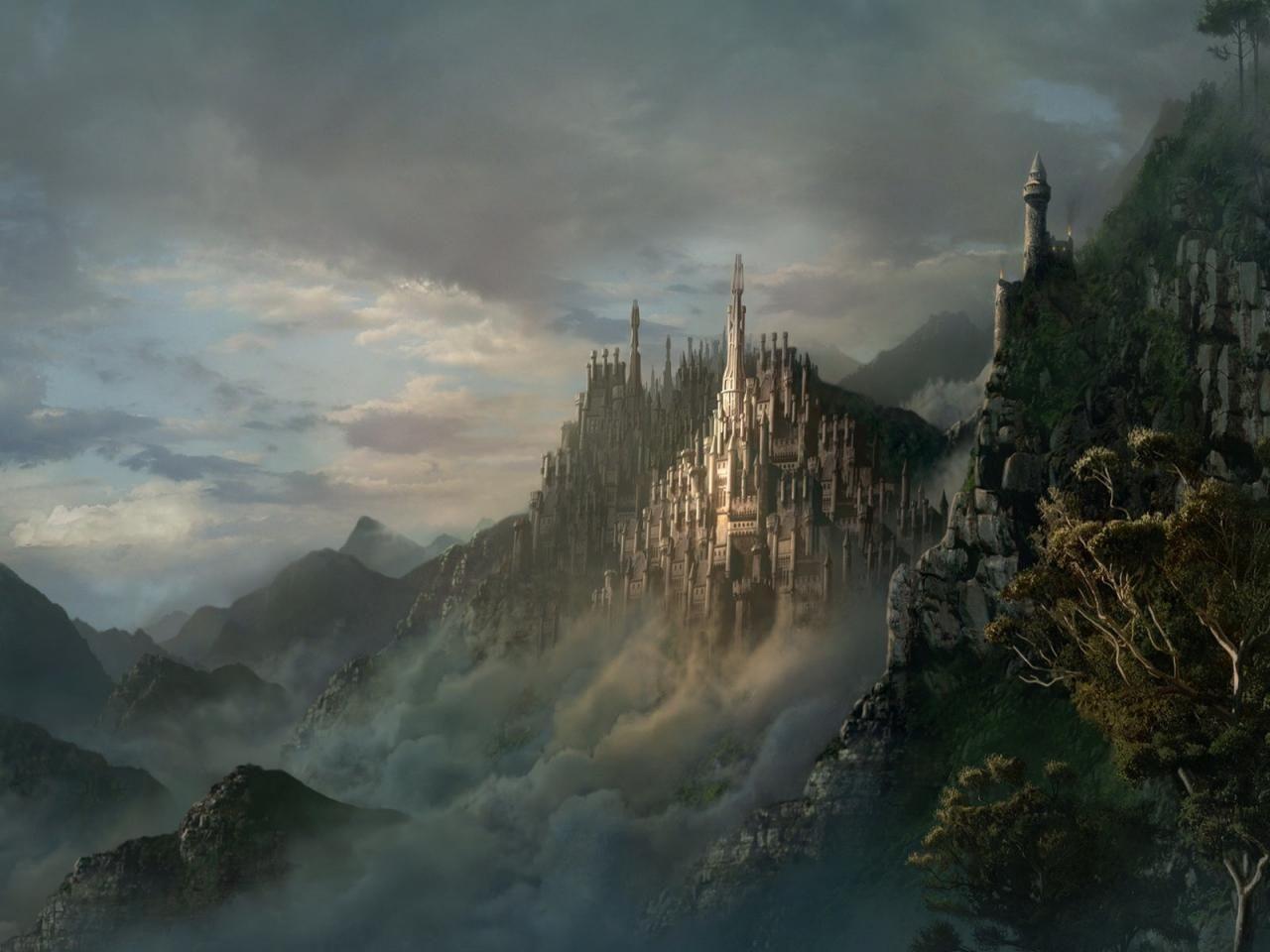fantasy castle | fantasy & sci-fi | environments | fantasy art