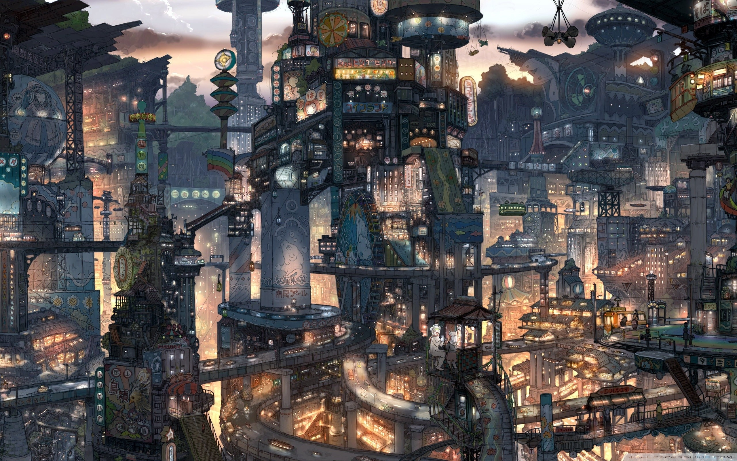 fantasy city ❤ 4k hd desktop wallpaper for 4k ultra hd tv • tablet