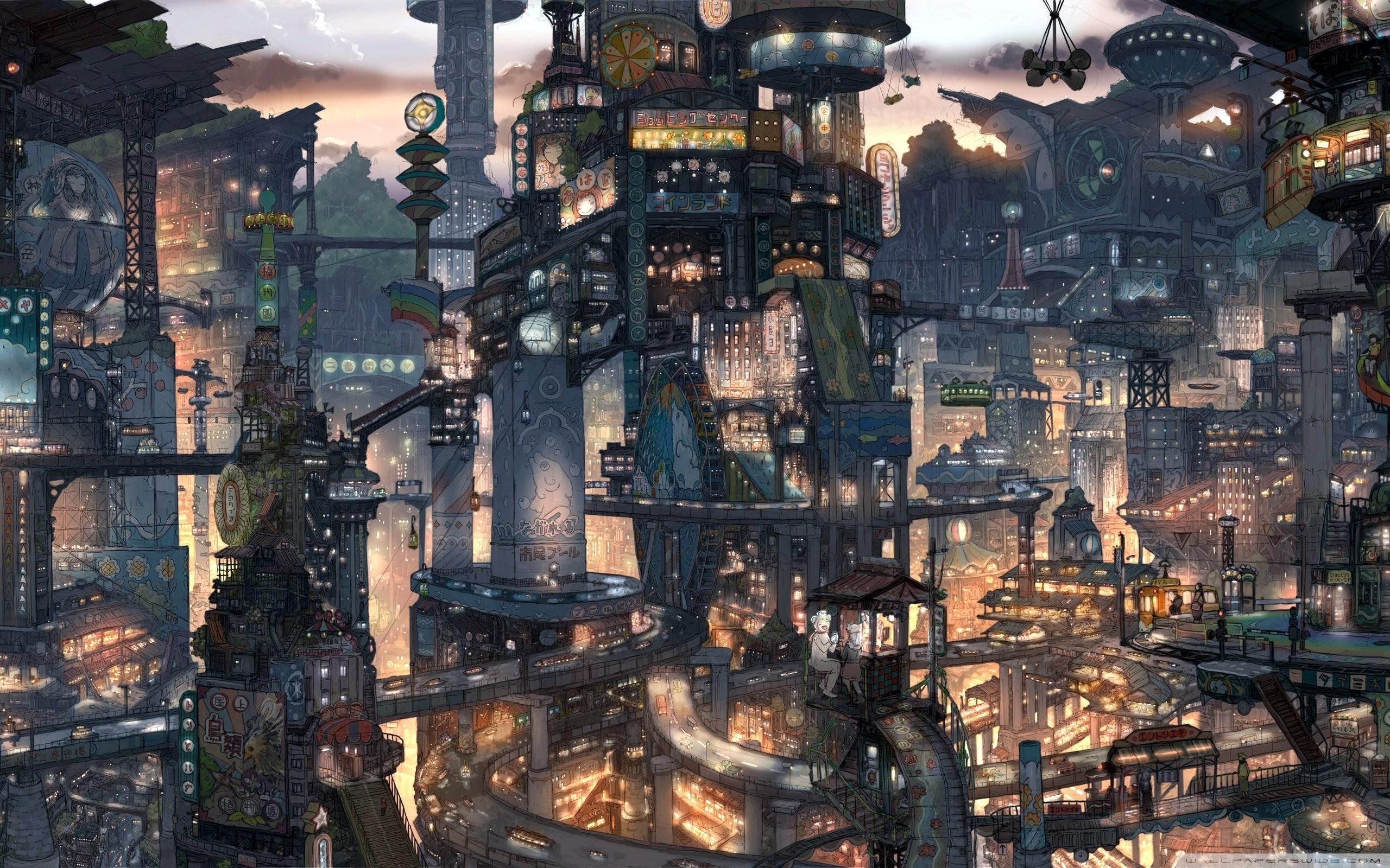 fantasy city ❤ 4k hd desktop wallpaper for 4k ultra hd tv • tablet