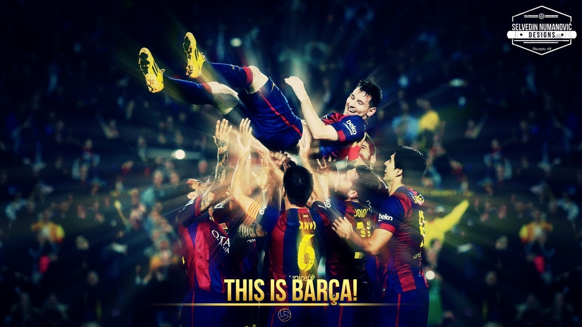 fc barcelona hd wallpaper 2015selvedinfcb on deviantart