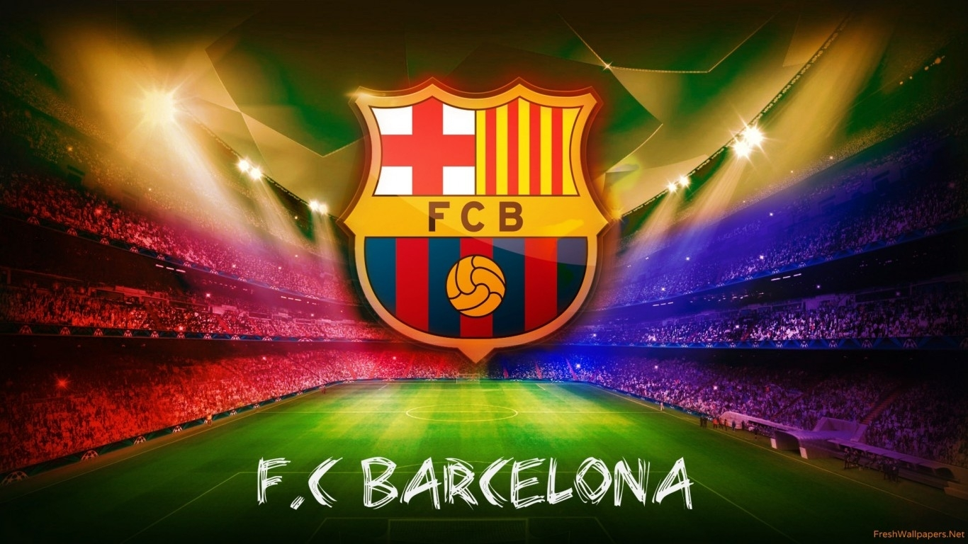 Title : fc barcelona wallpapers | freshwallpapers. Dimension : 1366 x 768. File Type : JPG/JPEG